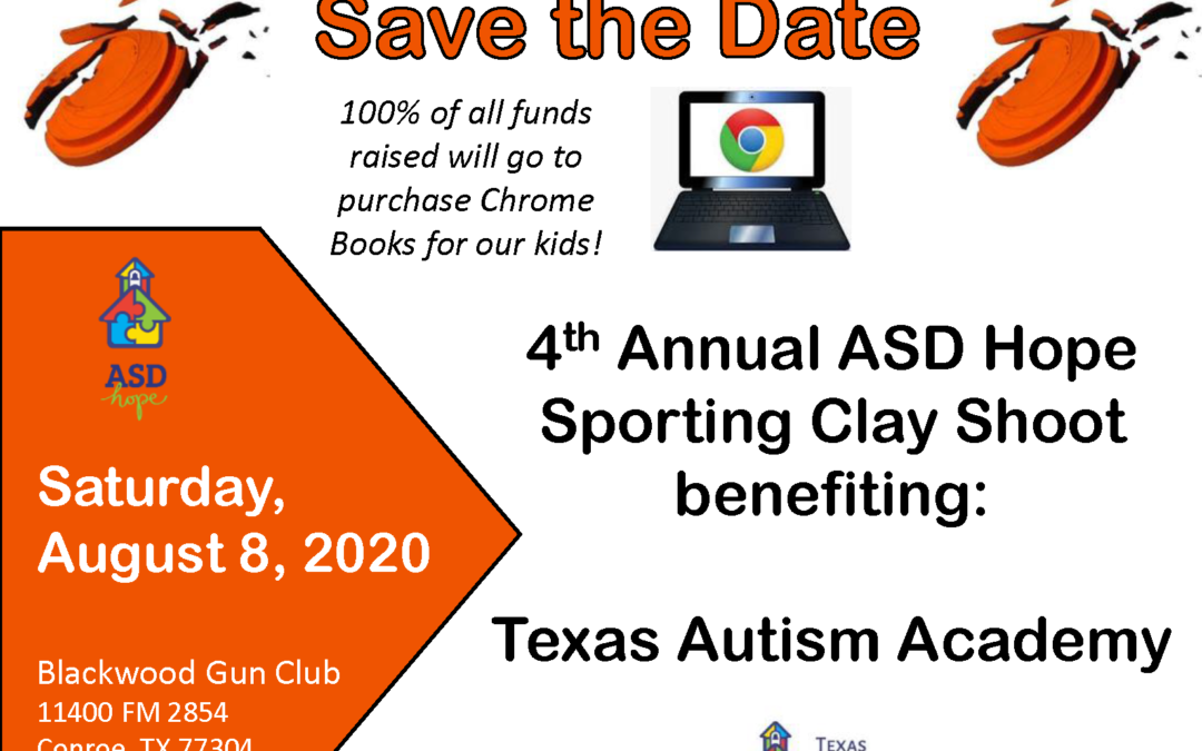 4th Annual ASD Hope Sporting Clay Shoot benefiting Texas Autism Academy